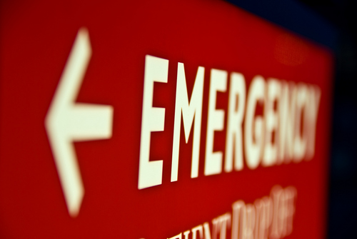 Dental Emergency Sign for Ann Arbor Emergency Dentist at Everwell Dentistry.